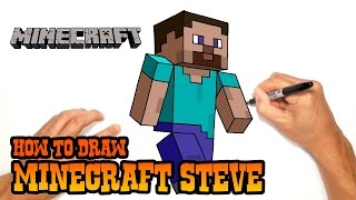 How to Draw Minecraft Steve | Video Lesson