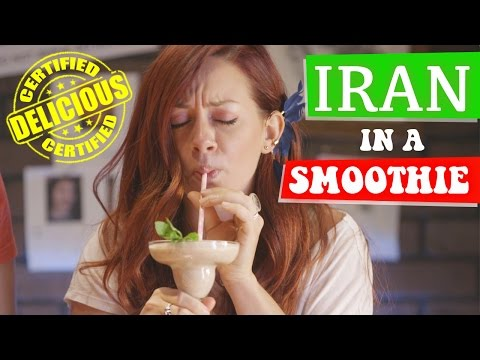 FOOD PORN: Iran in a Smoothie