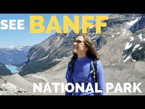 🍁Hiking Banff National Park Full Time RV Road Trip Travel Canada