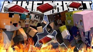 DESTROYING ALL MY FRIENDS! pt. 1 - Minecraft Bed Wars