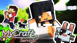 CUTEST PETS EVER!   MyCraft Minecraft Survival   Part 2