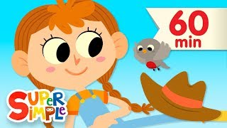 The Farmer In The Dell | + More Nursery Rhymes and Kids Songs | Super Simple Songs
