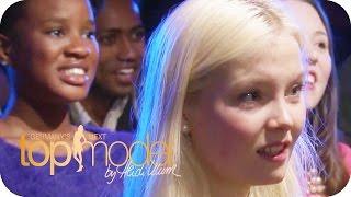 Erica geht bei ihrem Auftritt zu weit (Jüli, Erica, Anuthida, Kiki) | Germany's next Topmodel 2015