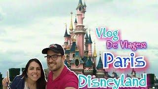 Disneyland Paris -  #FokoEGui Vlog 08 Diário de Viagem França - Vlog Disney Europa