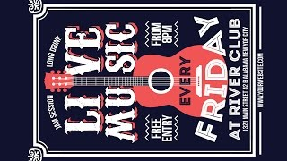 Creating a Live Music Poster Design - Coreldraw Tutorials