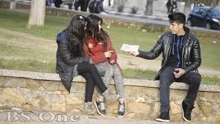 شاهد شاب يعرض المال على البنات مقابل الخروج معه في عيد الحب .. مقلب التجارة بالفتيات