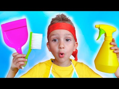 Xxx Mp4 Vlad And Nikita Pretend Play With Cleaning Toys And Help Mom 3gp Sex