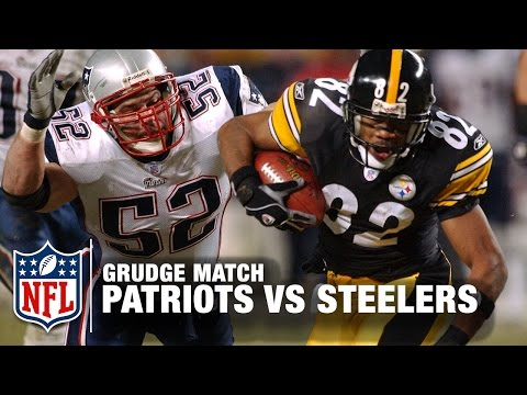 Patriots vs. Steelers 2004 AFC Championship Game | Grudge Match | NFL NOW