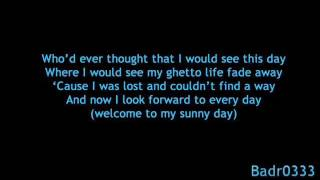 sunnyday with Lyrics(Akon Feat. wyclef Jean)