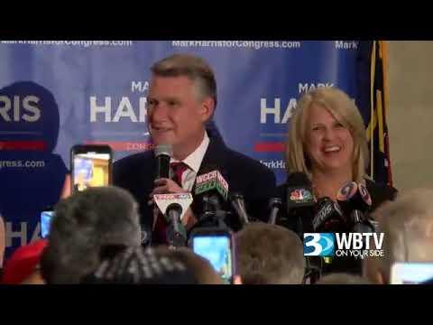 Mark Harris Celebrates Election Fraud