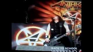Anthrax Indians Download Festival Donnington England 2012