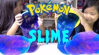 DIY Galaxy Slime Giant Surprise Eggs Pokemon Toys - Kids