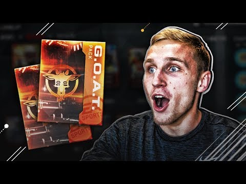 OPENING THE GOAT BUNDLE! 91 OVERALL GOATS! Madden Mobile 18