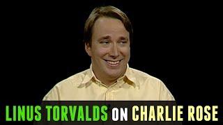 Linus Torvalds on Charlie Rose [2001]