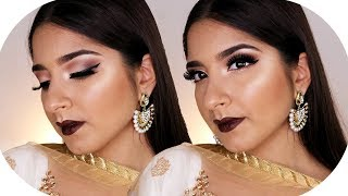 Diwali Make Up Look 2017  - Brown & Glowy Party Make Up | Sanny Kaur