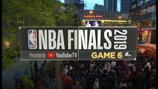 2019 NBA Finals | Toronto Raptors vs Golden State Warriors Game 6 ESPN on ABC Intro