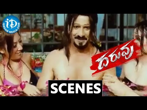 Daruvu Movie Scenes - Ravi Teja soul in chines and south african body || Taapsee
