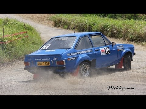 Rally Barbados 2012 King of the Hill Racing Action