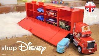 shopDisney   Cars Toys - Check Out Mack Friction Motor Hauler!   Official Disney Pixar UK