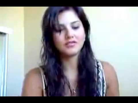 Sunny Leone HOT CAM Video   Live CHAT Kissing