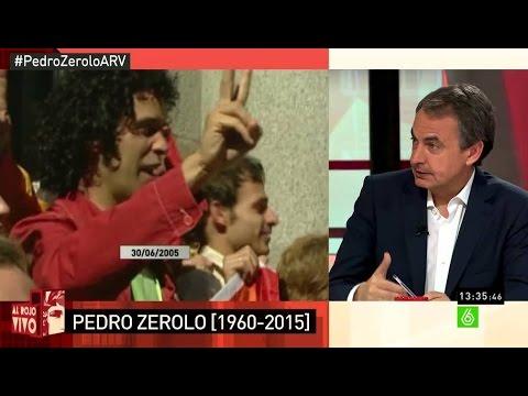 Zapatero Zerolo era un hombre libre que nos hizo más libres a todos