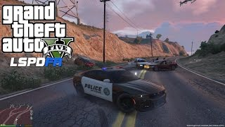 GTA 5 - LSPDFR - EPiSODE 39 - LET'S BE COPS - CITY PATROL - 2015 CHARGER (GTA 5 PC POLICE MODS)