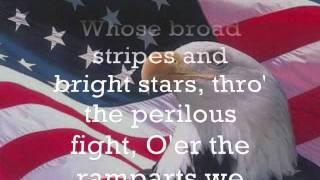 The Star Spangled Banner Lyrics Cover