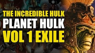 Hulk vs The Silver Surfer (Planet Hulk Vol 1: Exile)