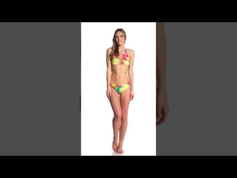 Volcom Hot Tropic Cheeky Bikini Bottom | SwimOutlet.com