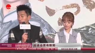 《看看星闻》:二度合作仍生疏 刘恺威:郑爽是个好姑娘!  Kankan News【SMG新闻超清版】