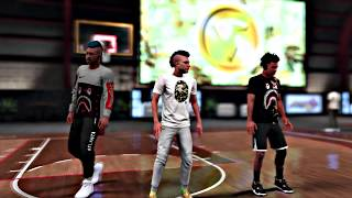 NBA 2K18's First HighRollers Gameplay ( my voice is gone)