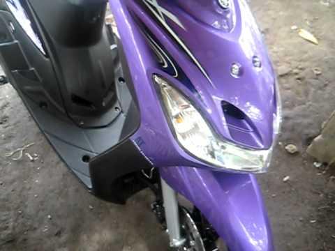 yamaha mio amore violet B3DRC teriyaki .avi