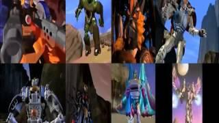 Beast Wars Maximals VS Predacons