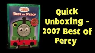 Quick Unboxing - 2007 Best of Percy