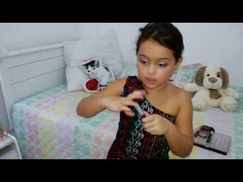 Maquiagem infantil com Duda Cunha