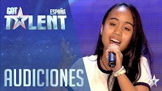 Pase de Oro: Ha llegado un angél | Audiciones 4 | Got Talent España 2016