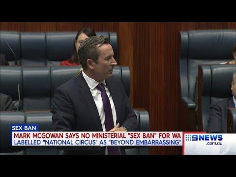 Sex Ban | 9 News Perth