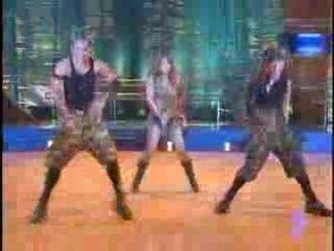 regine tolentino doing a britney medley on shal we dance