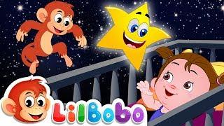 Twinkle Twinkle Little Star | Little BoBo Popular Nursery Rhymes | FlickBox Kids Songs