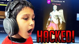 Little Brother HACKED Brother's Fortnite Account!