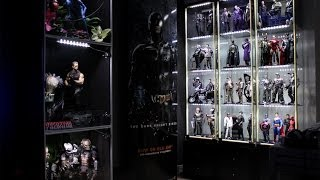 Hot Toys/Sideshow/Enterbay collection mancave update video