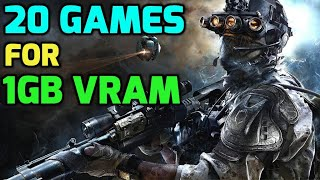 2017 games for 1GB GRAPHIC CARD (VRAM) TOP 20 (NEW GAMES)