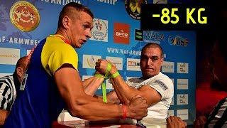 World Arm Wrestling Championship 2018 (Senior Men -85 kg Left hand Qualification)