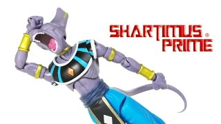 SH Figuarts Beerus Dragon Ball Z Bandai Tamashii Nation Battle of Gods Movie Toy Figure Review
