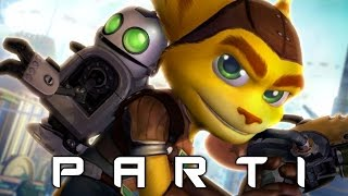Ratchet and Clank Walkthrough Gameplay Part 1 - Nostalgia (2016 PS4)