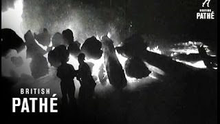 1,100 Flee From Forest Fire (1951)