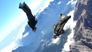 Freestyle Wingsuit Flying Above the Dolomites | Soul Flyers