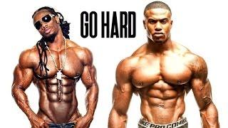 "Bodybuilding Motivation ""Go Hard"" Simeon Panda & Ulisses Jr."