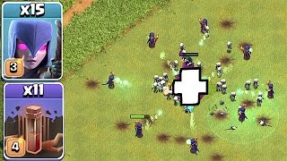 WITCHES + NEW EVENT = FAILTAGE!!🔸Clash of clans 🔸 Troll gameplay