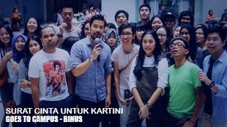 Surat Cinta Untuk Kartini Goes To Campus - Binus